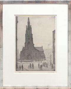 Street Scene, St. Simon's Church.