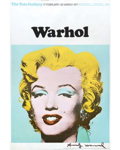 Marilyn Monroe, Tate Gallery Poster.