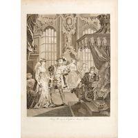 King Henry the Eighth & Anna Bullen.