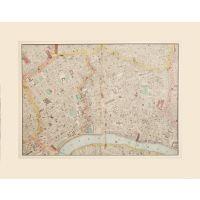 LONDON (CENTRAL SHEET). [Bloomsbury, Pentonville, Covent Garden, City].