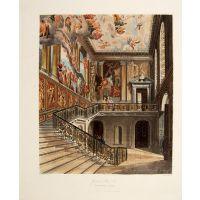 Grand Stair Case, Hampton Court.